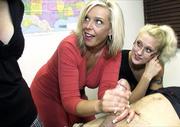 kinky blonde teacher and