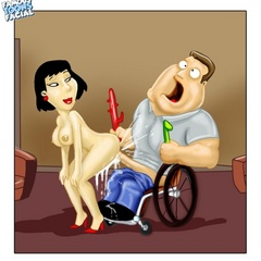 Lustful Peter Griffin banging hard his wife - Cartoon Sex - Picture 2