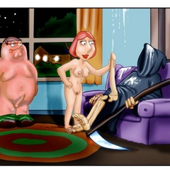 Lustful Peter Griffin banging hard his wife - Cartoon Sex - Picture 6