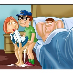 Lustful Peter Griffin banging hard his wife - Cartoon Sex - Picture 11