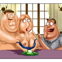 Lustful Peter Griffin banging hard his wife - Cartoon Sex - Picture 12