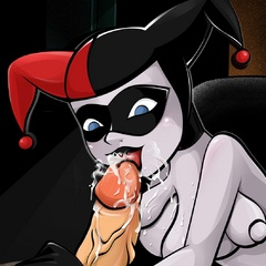 Harley Quinn taking a good portion of - Cartoon Sex - Picture 4