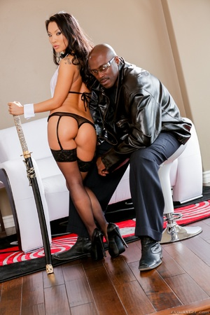 Magnificent Asian babe takes cool facial load of cum from a thick black dick - XXXonXXX - Pic 4