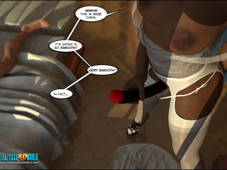 Dirty lezzy in stockings pounding her lover's - Cartoon Sex - Picture 2