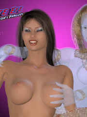Bodacious brunette babe in a red corset - BDSM Art Collection - Pic 5