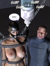 Very hot beautiful chicks with gorgeous 3d toon bodies waiting for their