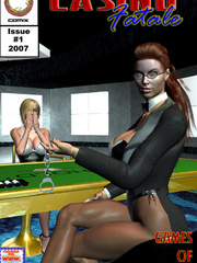 Busty red bitch in green suit and high - BDSM Art Collection - Pic 4