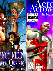 An army f busty 3d toon chicks is - BDSM Art Collection - Pic 1