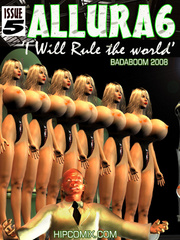 An army f busty 3d toon chicks is - BDSM Art Collection - Pic 4