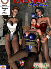Lustful kinky mistress torturing her - BDSM Art Collection - Pic 3