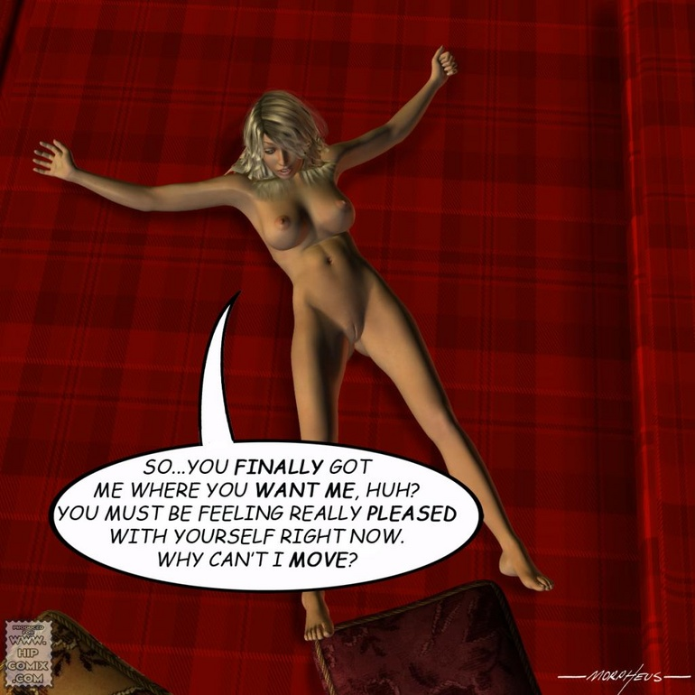 Hot blonde gal suffering badly form her - BDSM Art Collection - Pic 2