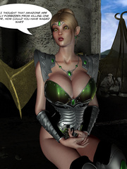Hot 3d toon girl bound to a bdsm device - BDSM Art Collection - Pic 5