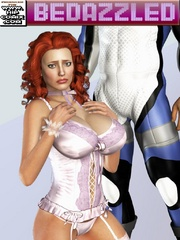 Bodacious 3d porn commixes with awesome - BDSM Art Collection - Pic 2