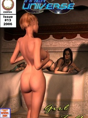 Two kinky masters jeering hot red girl - BDSM Art Collection - Pic 4