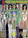 Hot busty 3d toon space girls are ready for…