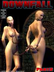 Thrilling 3d toon porn with bald naked - BDSM Art Collection - Pic 3