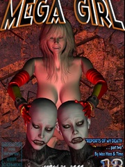 Kinky Mega girl torturing badly her - BDSM Art Collection - Pic 2