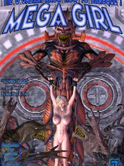 Mega girl is again on her path of - BDSM Art Collection - Pic 5