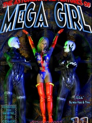 Mega girl is again on her path of - BDSM Art Collection - Pic 7