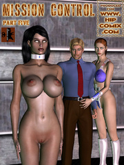 Lustful doctor testing busty space - BDSM Art Collection - Pic 6