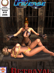 Busty blonde chick hogtied and with a - BDSM Art Collection - Pic 8