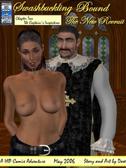 Two mousquetaires get high watching hot - BDSM Art Collection - Pic 6