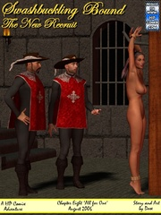 Two mousquetaires get high watching hot - BDSM Art Collection - Pic 8
