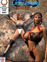 Hot busty 3d toon mistress gets high - BDSM Art Collection - Pic 5