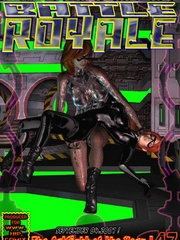 Hot busty 3d toon mistress gets high - BDSM Art Collection - Pic 6