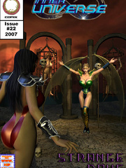 Kinky master keeping a cool chick in - BDSM Art Collection - Pic 5