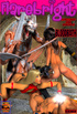Two hot chicks with swords enslaved a cool dude…