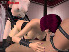 Cool 3d pics with awesome bdsm scenes - BDSM Art Collection - Pic 1