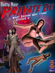 Watch kinky deeds of 3d toon Mega girl - BDSM Art Collection - Pic 2