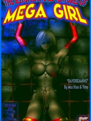 Horny Mega girl loves to fuck somebody - BDSM Art Collection - Pic 8