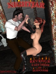 Hot warrior space girl escapes from - BDSM Art Collection - Pic 6