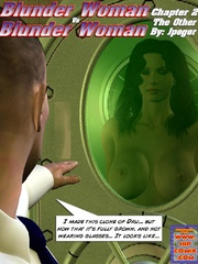 Busty brunette chick gets stretched on - BDSM Art Collection - Pic 1