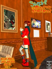 Kinky mistress adores jeering her slave - BDSM Art Collection - Pic 1