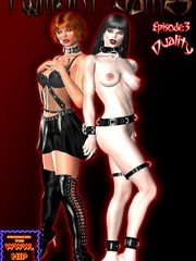 Kinky mistress adores jeering her slave - BDSM Art Collection - Pic 4