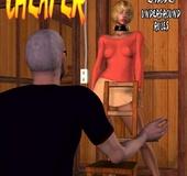 Kinky mistress adores jeering her slave girl in…