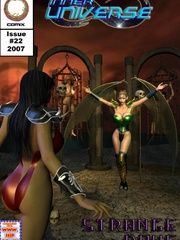 Mystic girl with wings adores punishing - BDSM Art Collection - Pic 5