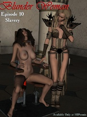 Two hot chicks fixed in a special bdsm - BDSM Art Collection - Pic 5