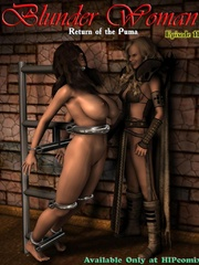 Two hot chicks fixed in a special bdsm - BDSM Art Collection - Pic 6