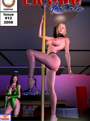 Two hot chicks fixed in a special bdsm - BDSM Art Collection - Pic 8