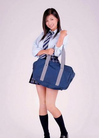 lovely japanese school girl