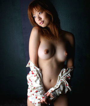 Red Asian slut demonstrating her small tits and shaggy pussy - XXXonXXX - Pic 2