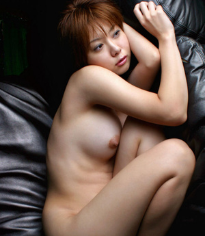 Red Asian slut demonstrating her small tits and shaggy pussy - XXXonXXX - Pic 5