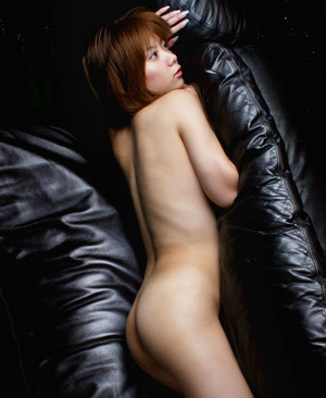 Red Asian slut demonstrating her small tits and shaggy pussy - XXXonXXX - Pic 6