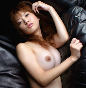 Red Asian slut demonstrating her small tits and shaggy pussy - XXXonXXX - Pic 7