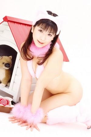 Pretty Asian girl poses in Santa's uniform on camera - XXXonXXX - Pic 5