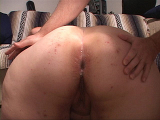 Dirty white bitch gets her fat ass banged hard in doggy - Picture 3